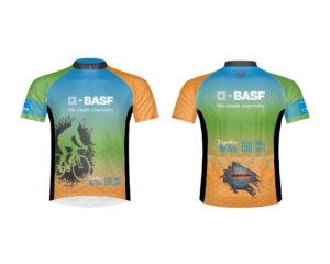 Mock up of BASF Bike MS Team Kit Design