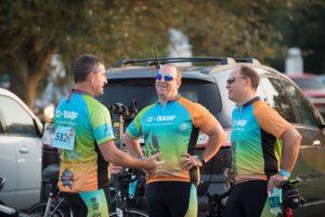BASF Bike MS Team Members of Dat's How We Roll, 2015