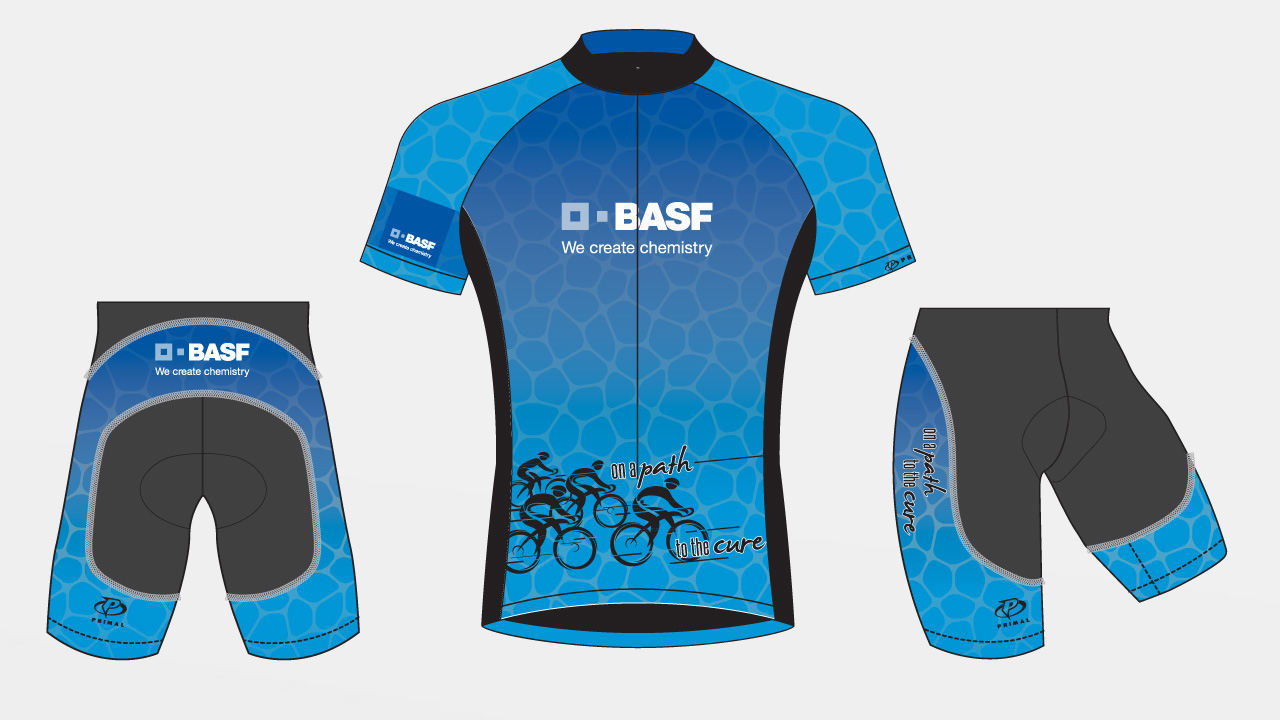 concept for BASF Bike MS Team Kit, 2017