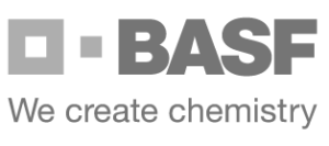 BASF logo - we create chemistry