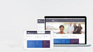 dr landry website by pastiche design