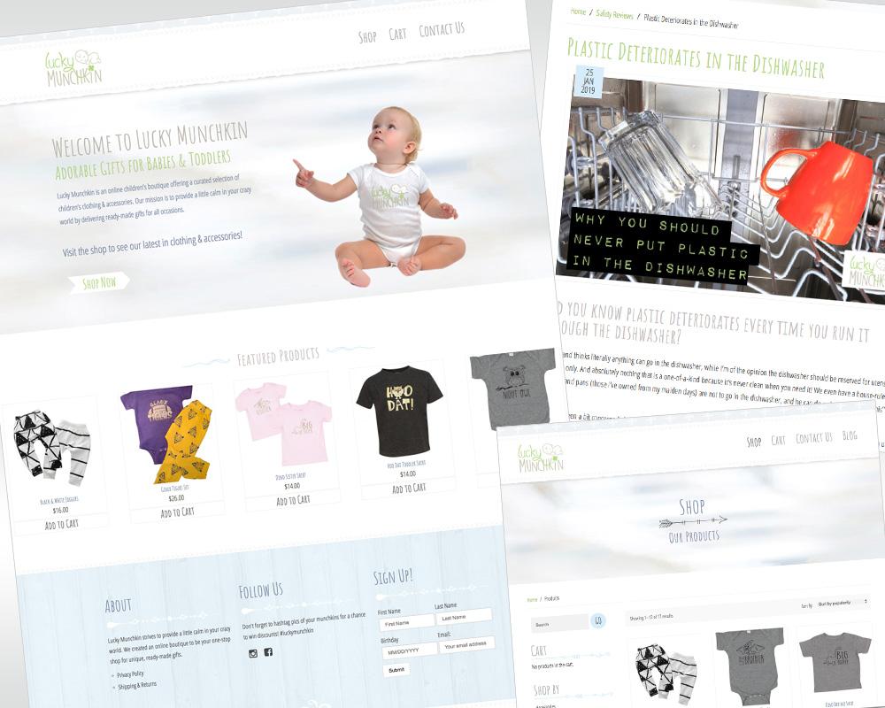 lucky munchkin natural parenting blog & shop