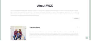 About St. Tammany Builder Ryan Warshauer of WCC